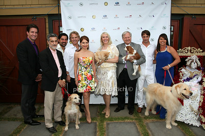 David Crouch, Bill Berloni, Guest, Guest,  Jean Shafiroff, Jewel Morris, David Frei, Prince Lorenzo Borghese, Carolee Chapuis