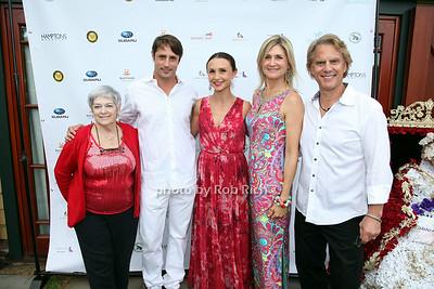 Janet Russell, Prince Lorenzo Borghese, Georgina Bloomberg, Lorin Morrisey, Guest