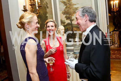 Sophia Allison, Amy Jordan, Theodore Allison. Photo by Tony Powell. The Russian Ball. Cosmos Club. January 11. 2014