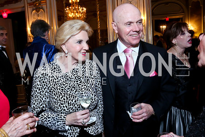 Regina and Martin Donnelly. Photo by Tony Powell. The Russian Ball. Cosmos Club. January 11. 2014