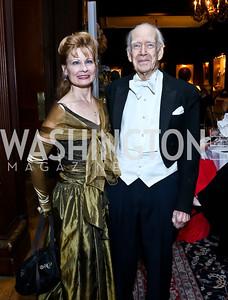 Mary Ellen Hood, Austin Hay. Photo by Tony Powell. The Russian Ball. Cosmos Club. January 11. 2014