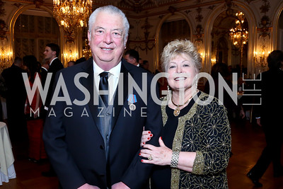 Nick and Nadine Buick. Photo by Tony Powell. The Russian Ball. Cosmos Club. January 11. 2014