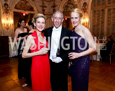 Amy Jordan, Theodore and Sophia Allison. Photo by Tony Powell. The Russian Ball. Cosmos Club. January 11. 2014