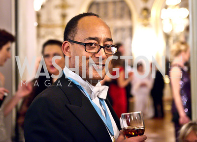 His Imperial Highness Prince Ermias Sahle-Selassie of Ethiopia. Photo by Tony Powell. The Russian Ball. Cosmos Club. January 11. 2014