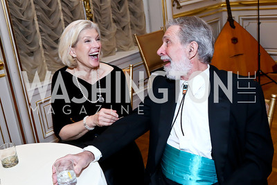 Andrea Delaney, Ken Chase. Photo by Tony Powell. The Russian Ball. Cosmos Club. January 11. 2014