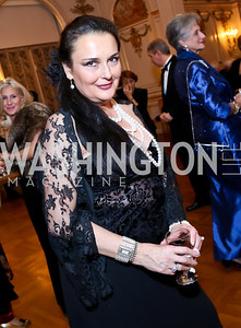 Rhoda Septilici. Photo by Tony Powell. The Russian Ball. Cosmos Club. January 11. 2014