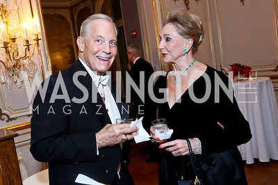 Robert Heggestad, Rose Marie Bogley. Photo by Tony Powell. The Russian Ball. Cosmos Club. January 11. 2014