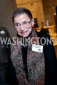 "Ruth Bader Ginsburg. Photo by Tony Powell. ""The Tallest Tree in the Forest"" Opening Night Dinner. January 16, 2014"
