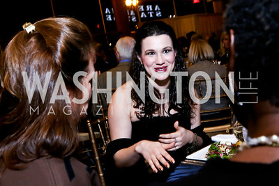 """Tallest Tree' Directing Assistant Amber Emory. Photo by Tony Powell. ""The Tallest Tree in the Forest"" Opening Night Dinner. January 16, 2014"