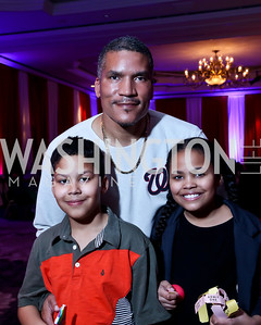 Lucas, Paxton and Chloe Baker. Photo by Tony Powell. 5th Annual Wacky and Whimsical Tea for THEARC. Ritz Carlton. March 9, 2014
