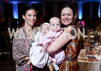 Jennifer and Jude Wood, June and Conner Herman. Photo by Tony Powell. 5th Annual Wacky and Whimsical Tea for THEARC. Ritz Carlton. March 9, 2014