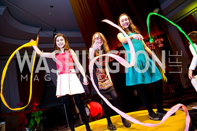 Lexi Stone, Katie Moran, Morgan Curran. Photo by Tony Powell. 5th Annual Wacky and Whimsical Tea for THEARC. Ritz Carlton. March 9, 2014