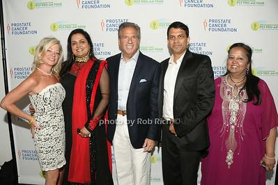 Jennifer Myles, Vibha Bihtnatar, Glenn Myles, Neel Sawant, Mynoo Blackbyrn photo by Rob Rich/SocietyAllure.com © 2014 robwayne1@aol.com 516-676-3939