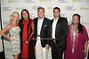 Jennifer Myles, Vibha Bihtnatar, Glenn Myles, Neel Sawant, Mynoo Blackbyrn<br /> photo by Rob Rich/SocietyAllure.com © 2014 robwayne1@aol.com 516-676-3939
