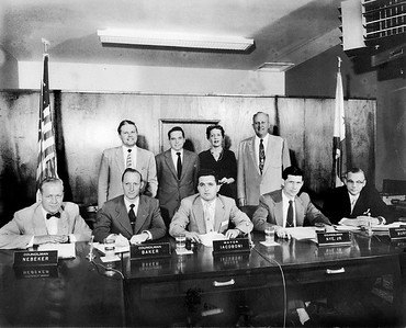 City Council and Staff, 1955