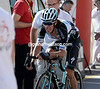 Uran finishes exhausted and 33-seconds down...