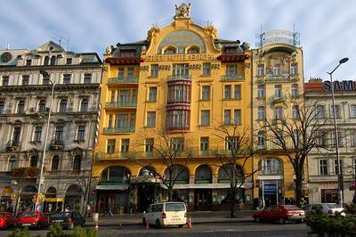 We stayed at the Grand Europa. It is old but decent and right in the middle of everything we wanted to see. What a wonderful city.