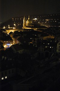 Looking over old Prauge from the Prauge Castle up on the hill.