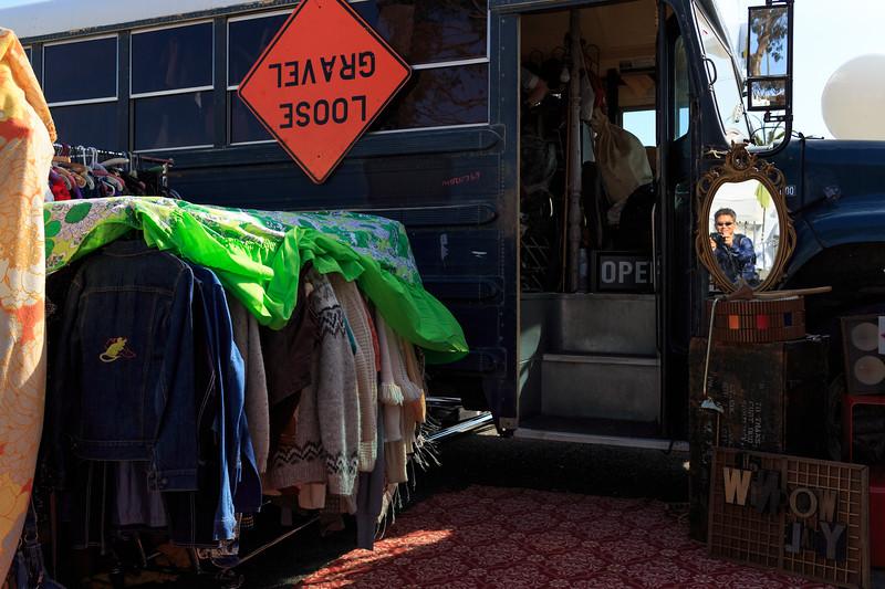 Mirror, mirror, on the bus...