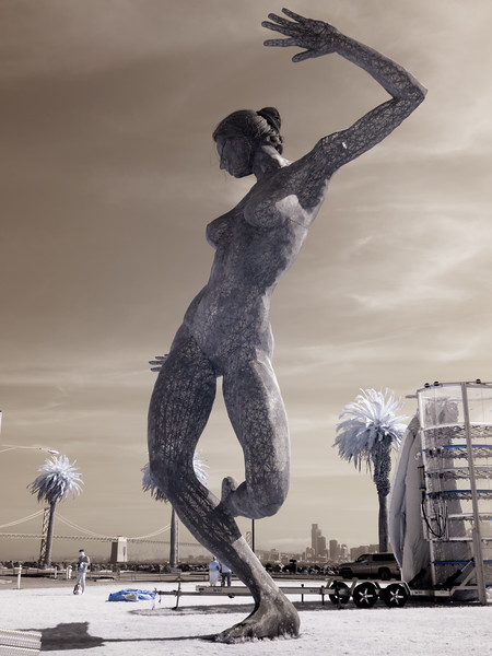 Bliss Dance in standard infrared (720nm).