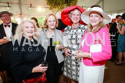Jill Neilsen, Sophie Ackerly, Chrissy Griffin, French Wallop. Photo by Alfredo Flores. Tudor Place Garden Party. Tudor Place Historic House and Garden. May 21, 2014.