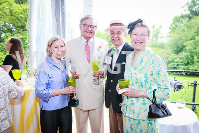 Laurie Williams, Andy Williams, Dan Dowd, Chris Dowd. Photo by Alfredo Flores. Tudor Place Garden Party. Tudor Place Historic House and Garden. May 21, 2014.