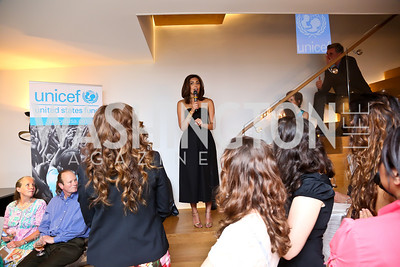 Samar Langhorne. Photo by Tony Powell. UNICEF Syrian Children Fundraiser. Langhorne residence. June 4, 2014