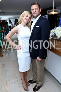 Stacey and Greg Lubar. Photo by Tony Powell. UNICEF Syrian Children Fundraiser. Langhorne residence. June 4, 2014