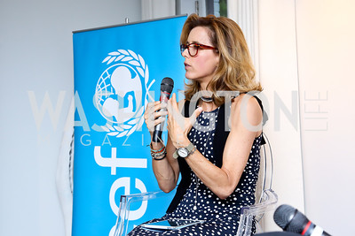 Tea Leoni. Photo by Tony Powell. UNICEF Syrian Children Fundraiser. Langhorne residence. June 4, 2014