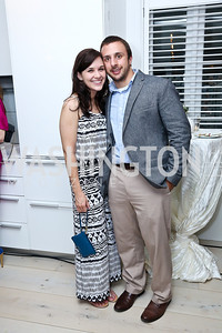 Kathleen Mosimann, Michael Feuz. Photo by Tony Powell. UNICEF Syrian Children Fundraiser. Langhorne residence. June 4, 2014