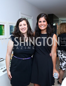Susannah Masur, Maha Hakki. Photo by Tony Powell. UNICEF Syrian Children Fundraiser. Langhorne residence. June 4, 2014
