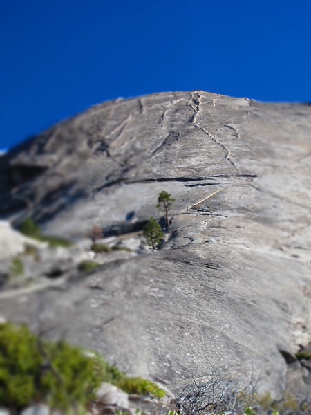 23/10/13 The dike of Snake Dike, Half Dome. Pretty stunning feature to climb at such a reasonable grade!