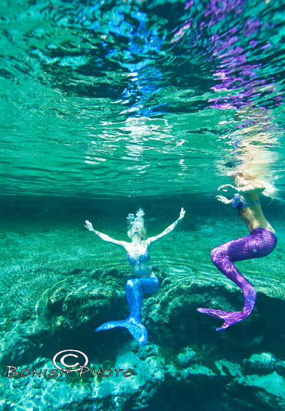 Mermaid Reflections - Blue Springs, Florida - Photo by Pat Bonish, Bonish Photo