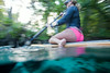 Floating past the Camera on the SUP - Underwater Photography by Pat Bonish