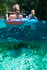 Floating on Tubes in Blue Springs Florida - Photo by Pat Bonish