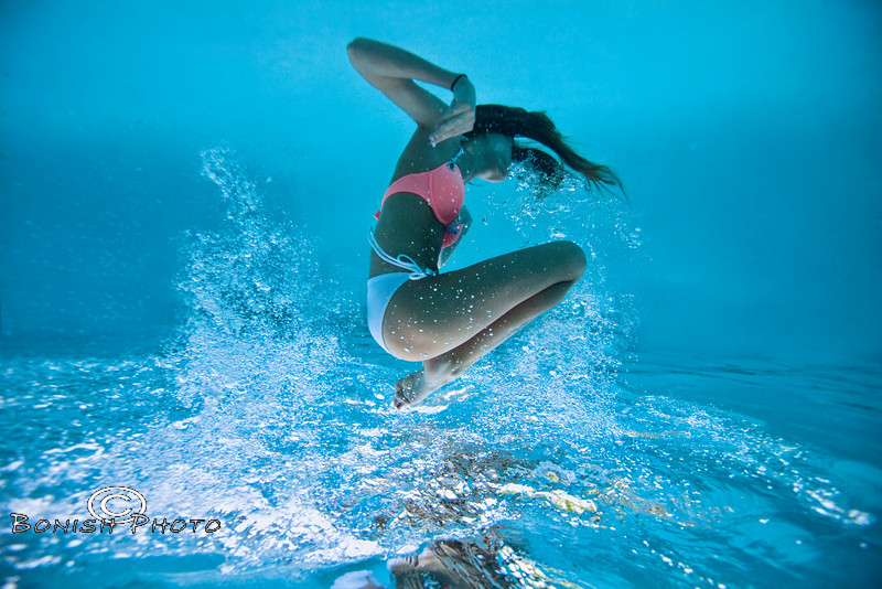 Cannonball - Underwater Photography by Pat Bonish, Bonish Photo