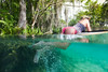 Cooling Off in the Springs - Underwater Photography by Pat Bonish