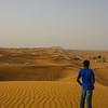 Dune bashing.
