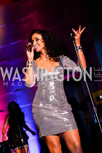 Mýa. Photo by Tony Powell. UNCF Masked Ball. Mellon Auditorium. March 27, 2014