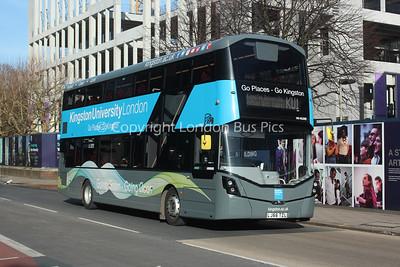 VH45209, LJ66TZL, London United