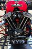 Morgan engine red 8x12