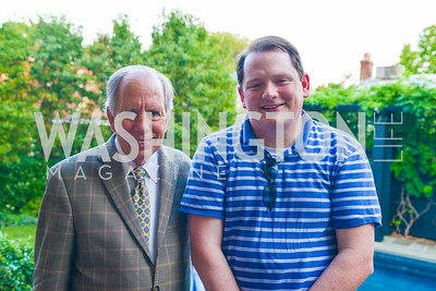 Dr. Bob Templin, Michael Everhart, A Celebration of Venture Philanthropy Partners at the home of Jack Davies and Kay Kendall, Wednesday June 18, 2014.  Photo by Ben Droz.