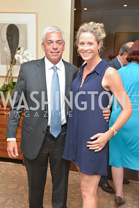 Martin Weinstein, Lori Weinstein, A Celebration of Venture Philanthropy Partners at the home of Jack Davies and Kay Kendall, Wednesday June 18, 2014.  Photo by Ben Droz.
