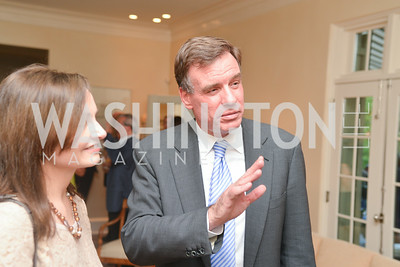 Senator Mark Warner, A Celebration of Venture Philanthropy Partners at the home of Jack Davies and Kay Kendall, Wednesday June 18, 2014.  Photo by Ben Droz.