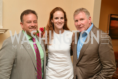 Raul Fernandez, Kate Goodall, Richard Hanlon A Celebration of Venture Philanthropy Partners at the home of Jack Davies and Kay Kendall, Wednesday June 18, 2014.  Photo by Ben Droz.