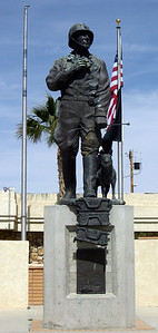 Statue of Gen. Patton.