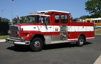 City of Alexandria Fire and Rescue - Alexandria Virginia.  Engine 207 was a loaner from Custom Fire, it was this 1986 Ford L/Luverne, 1250/500.  ex- Mendota Heights, Minnesota.