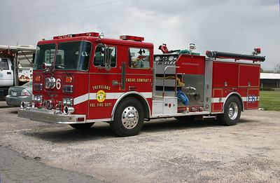 Trevilians Volunteer Fire Department - Louisa County Station 6.  Former Engine 6 was this 1989 Seagrave, 1500/810.
