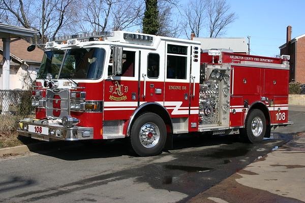 Engine 108 is a 2009 Pierce Arrow XT, 1500/750/30, sn- 22530-02.
