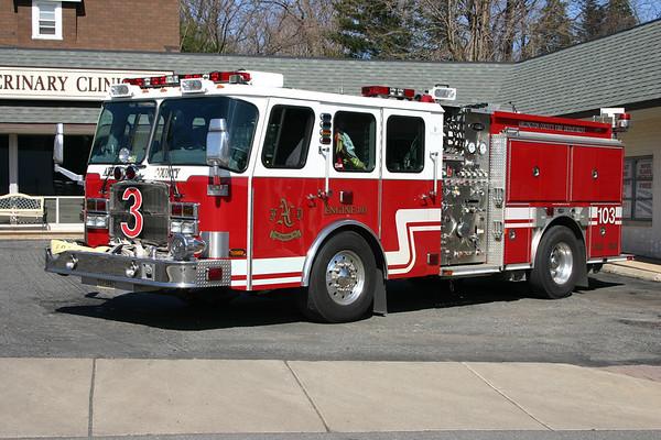 Engine 103 was a 2006 E-One Cyclone II, 1250/750/30, sn- 131942.  Sold to Rural Metro, Arizona.